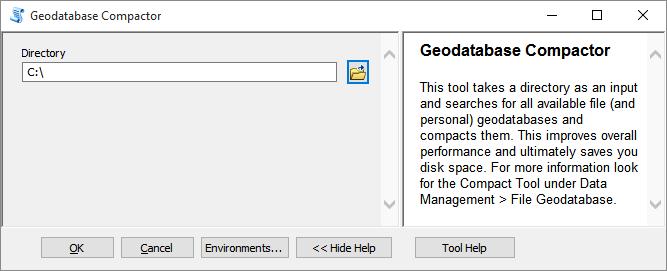 Geodatabase Compactor